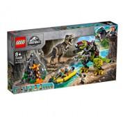 LEGO Jurassic World, Lupta T. Rex contra Dino-Mech 75938