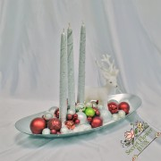 Aranjament Crăciun ''Silverred''