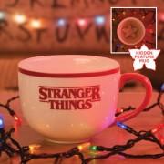 Stranger Things Demogorgon bögre 3D mintával