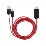 MHL Micro USB A Cable HDMI Con 11 Pines Para Samsung Galaxy S1-4 Nota1-4