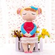 Plush Baby Doll - Stuffed Plush Animals Cartoon Kids Toys for Girls Children Baby Birthday Christmas Gift Girl Doll - Plush Bunny Rabbit (2)