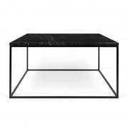 Tema Home Marmeren salontafel vierkant zwart 75x75