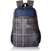 Tommy Hilfiger MOUNT 24.07 L Laptop Backpack(Grey, Blue)