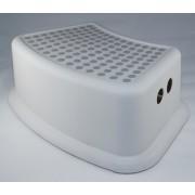 wc trainer - wc kinderhulp - toilet trainer - eerste opstapje - kinder opstapjes - wc krukje - wc opstapje - opstapkrukje - baby opstapje - extra veilig opstapje - antislip krukje - veilig krukje- keuken opstapje - grijs wit
