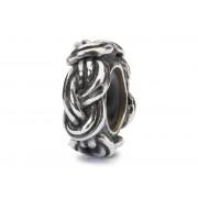 Trollbeads TAGBE-20201 Bedel/Stopper zilver Achtknoop