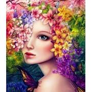 Gaira Malování podle čísel Květiny ve vlasech M992196