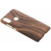 Bruin hout design hardcase hoesje voor de Xiaomi Mi A2