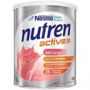 Suplemento Alimentar Nestlé Nutren Active Morango 400g