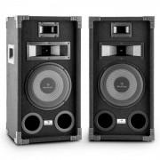 "Auna PA-800 fullskalig PA-högtalarpar 8"" bass 800w max."