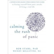 Calming the Rush of Panic: A Mindfulness-Based Stress Reduction Guide to Freeing Yourself from Panic Attacks & Living a Vital Life, Paperback