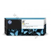 Мастило HP 81, Yellow (680 ml), p/n C4933A - Оригинален HP консуматив - касета с мастило
