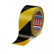 Banda adeziva de marcare 50mm x 33m galben/negru Tesa