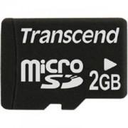 Transcend 2GB micro SD - TS2GUSDC