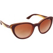 Vogue Cat-eye Sunglasses(Brown)