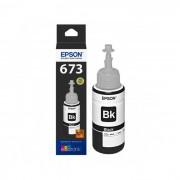 Botella de tinta negra Epson T673120 para L800