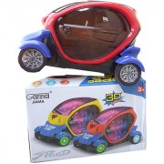 OH BABY 3D LIGHT MUSICAL POWER WITH AUTOMATIC SENSOR SUPER SPEED BLUE COLOR CAR FOR YOUR KIDS SE-ET-04
