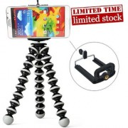 Fleejost Flexible Gorillapod Gorilla Tripod Stand or Mobile Phones and Camera's( No DSLR ) ( 9 Inch Gorilla Tripod)