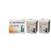 CareSens N 100 teste glicemie + 100 ace