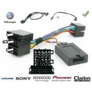 COMMANDE VOLANT Volkswagen Crafter 2006- - Pour JVC complet avec interface specifique