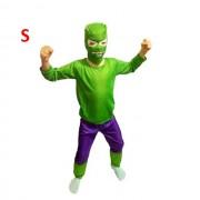Costum pentru copii, model Hulk, marimea S pentru varsta de 3-4 ani