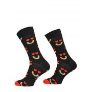 Happy Socks - Happy Rainbow Sock - Zwart - Size: 41-46