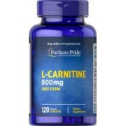 vitanatural l-carnitine 500 mg 120 comprimés