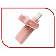 USB Flash Drive 128Gb A-Data i-Memory AI920 Lightning to USB 3.1 Pink AAI920-128G-CRG