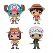 Anime One Piece Luffy & Chopper & ACE & Law Figure Vinyl Doll Collection Toys