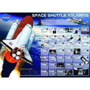 Puzzle Eurographics - Space Shuttle Atlantis, 1.000 piese (6000-0571)