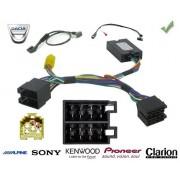 COMMANDE VOLANT Dacia SANDERO 2012-- Pour JVC complet avec interface specifique