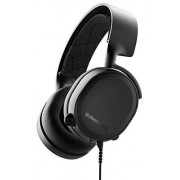 SteelSeries Arctis 3 Biauricular Diadema Negro Auricular con micrófono Auriculares con micrófono (PC/Juegos, Dolby Surround 7.1, Biauricular, Diadema, Negro, Caucho)