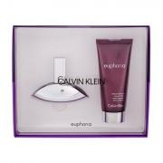 Calvin Klein Euphoria confezione regalo Eau de Parfum 30 ml + 100 ml crema da borsano da donna