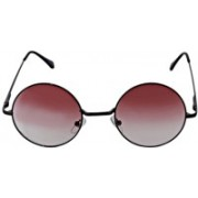 MARC JOHNSONS Round Sunglasses(Red)