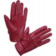 Modeka Hot Classic Motorcykel handskar Röd S