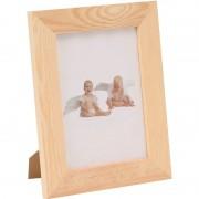 Merkloos 1x DIY fotolijstje knutselen/beschilderen voor 15 x 17,5 cm foto's