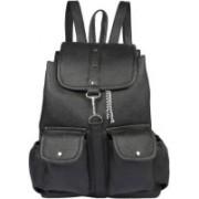 AL NOONE STAR backpacks For Collage Girls Waterproof Bags (Black) 25 L Backpack(Black)