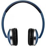 Слушалки CANYON Wireless Foldable Headset, Bluetooth 4.2, Сини, cable length 0.16m, 175x70x175mm, 0.149kg. CNS-CBTHS2BL