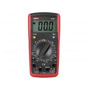 UNI-T Multimetro Digitale Con Misura Di Temperatura/capacità/frequenza/transistor