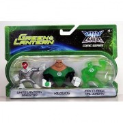 Green Lantern Action League Comic Series 3Pack White Lantern Sinestro Kilowog Max Charge Hal