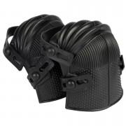 Merkloos 1 paar kniebeschermers / skate kniebescherming zwart verstelbaar 26 x 20 x 14 cm