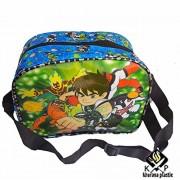 Kp Little Cute KIds Handbag Disney Frozen Elsa And Anna Multipurpose Use Lunch Bag Picnic Bag With Adjustable Handle For Comfort Carry (ben 10)