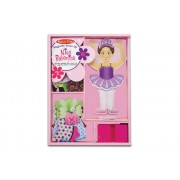 Nina Ballerina Magnetic Dress-Up by Melissa & Doug