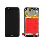 Ecran Display Huawei P10 Lite Service Pack cu rama acumulator Negru