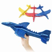 Inertial Foam EPP Airplane Dinosaur Winged Dragon Plane Toy 48cm Hand Launch Throwing Glider Aircraft