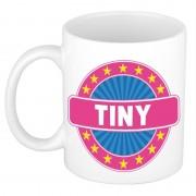 Shoppartners Voornaam Tiny koffie/thee mok of beker Multi