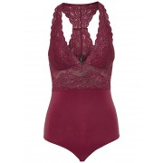 ONLY Kanten Body Dames Rood / Female / Rood / M