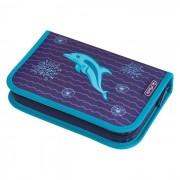 Pernica puna 1zip 2preklopa Dolphin Herlitz 50020966 000040432