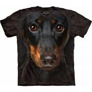 The Mountain Honden T-shirt Pincher voor volwassenen