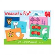 Jumbo Woezel & Pip ABC 123