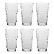 Комплект от 6 броя чаши за вода Luminarc Funny Flowers 270 мл